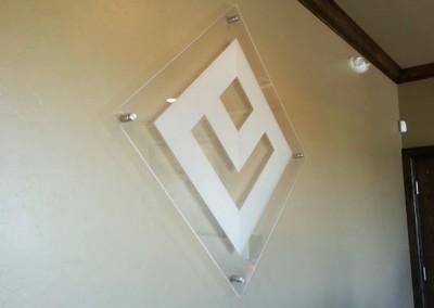 Custom Decorative Acrylic Logo Signs