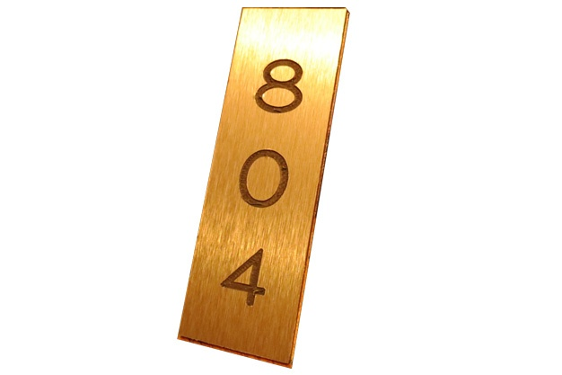 Custom Door Numbers and Plaques
