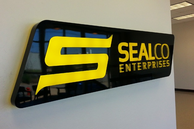 New Lobby Sign and Directional Signs for SealCo