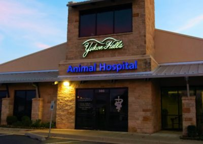 New Exterior Signs for Animal Hospital