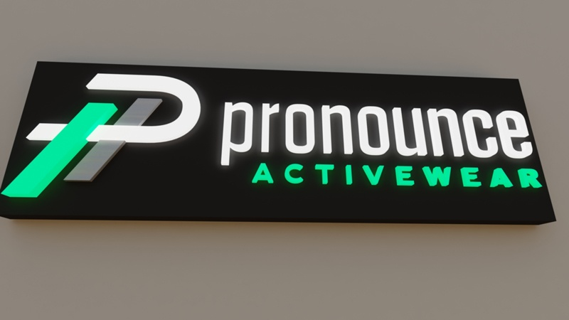 Interior Wall Signs for Business Logos
