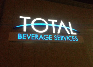 Total Beverage Lights Up In Norman