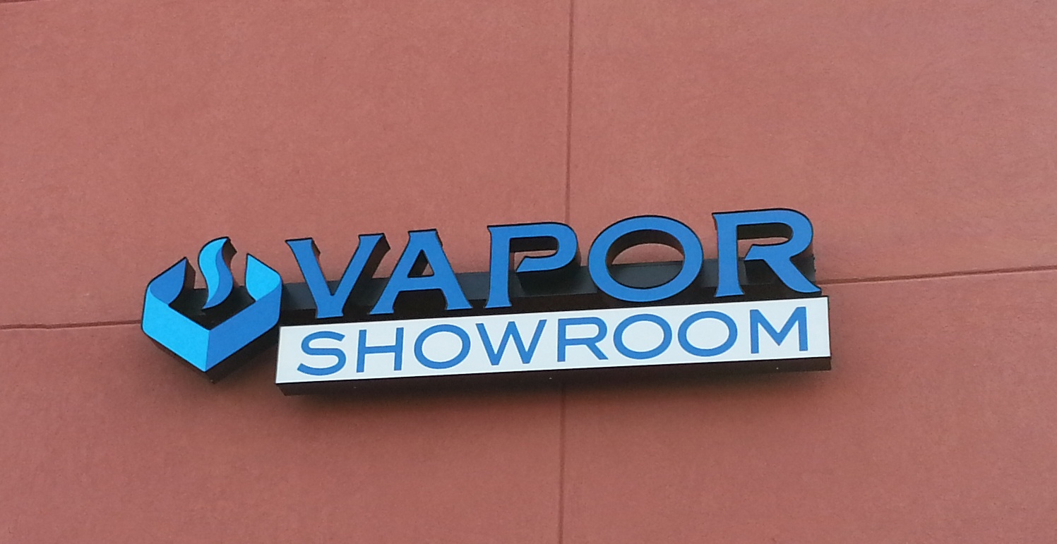 New Outdoor Signs installed for E-Cig Retailer